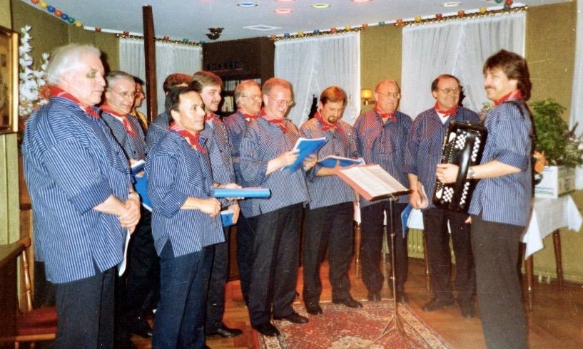 Erster Auftritt der Hamburger Klabautermänner 1992